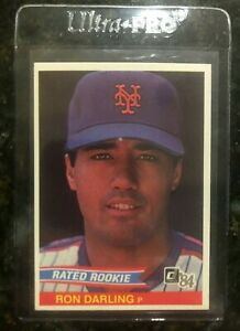 1984-Donruss-Ron-Darling-Rated-rookie-card-30-New-York-Mets-LEGEND-NM-MT