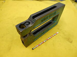 UNIPUNCH 8A 2 1//2 METAL STAMPING PUNCH PRESS FRAME
