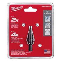 Milwaukee 48-89-9320 4-20 Mm. - 9 Hole Size Step Drill Bit
