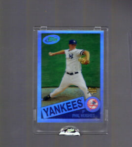 2007-eTopps-1200-Phil-Hughes-17-New-York-Yankees-Rookie-Card-RC-Rare-In-Hand