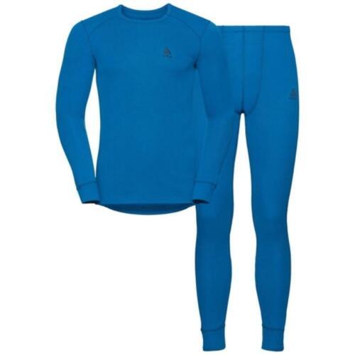Odlo Set Active warm Herren blue opal 196522 *UVP 89,99