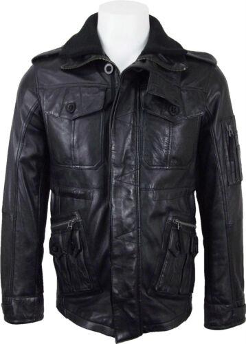 Luxury in Black London Soft Mens pelle Fashion dh Giacca Touch Unicorn qxXHWBwE7E