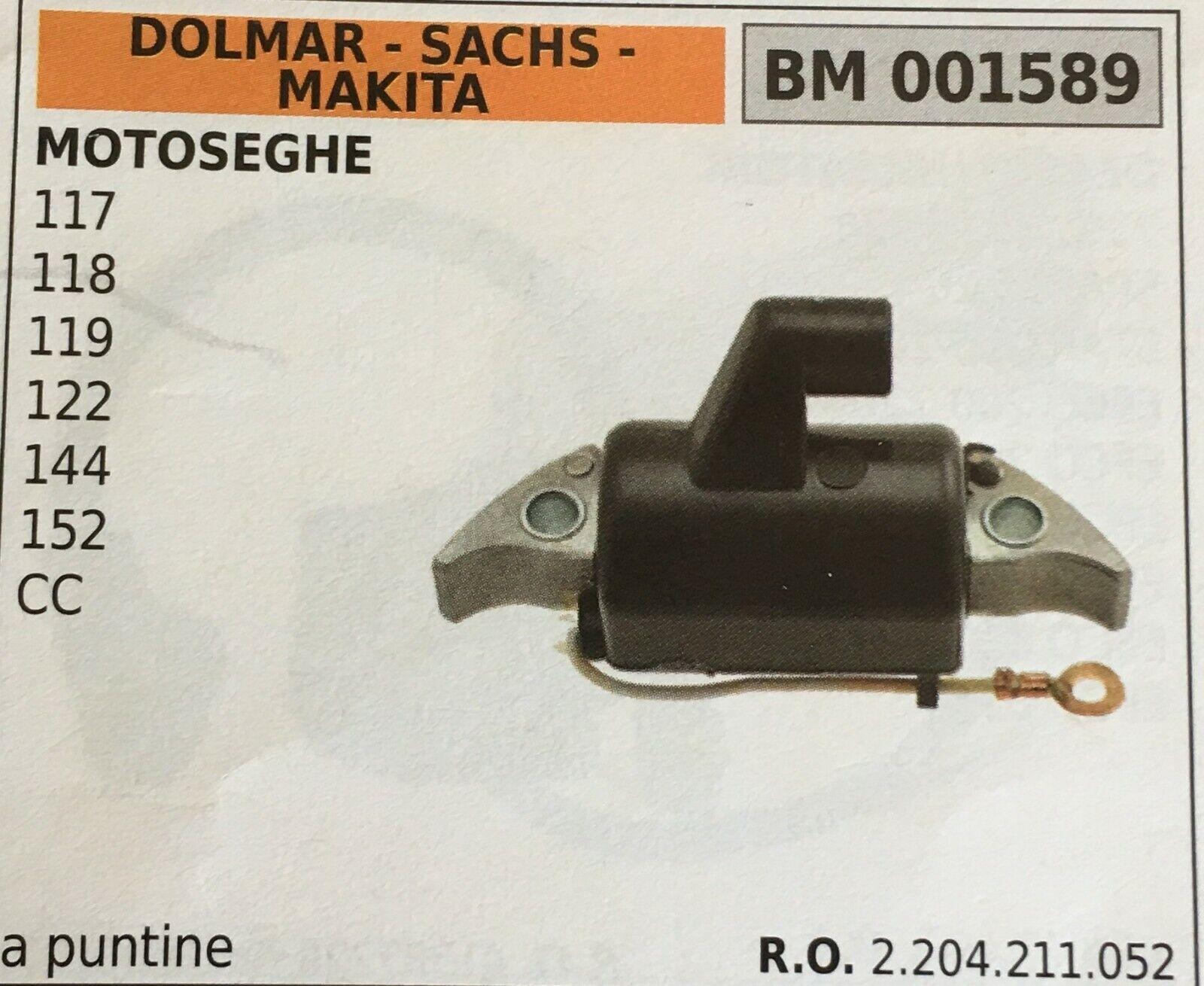 BOBINA A PUNTINE DOLMAR -  SACHS - MAKITA BM 001589
