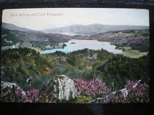 POSTCARD  RP LOCH ACHRAY amp LOCH VENNACHAR STIRLINGSHIRE - Tadley, United Kingdom - POSTCARD  RP LOCH ACHRAY amp LOCH VENNACHAR STIRLINGSHIRE - Tadley, United Kingdom