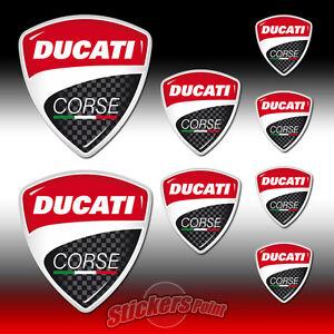 8-Adesivi-DUCATI-CORSE-stickers-new-logo-all-models-MOTO-GP