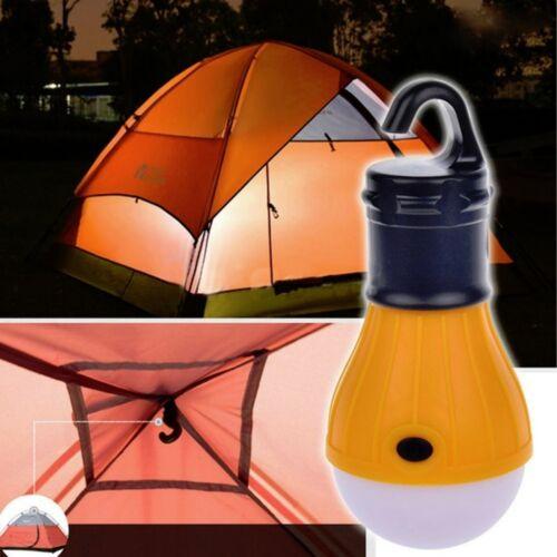 NEW Outdoor LED Hanging Camping Tent Light Bulb Fishing Lantern Lamp CD