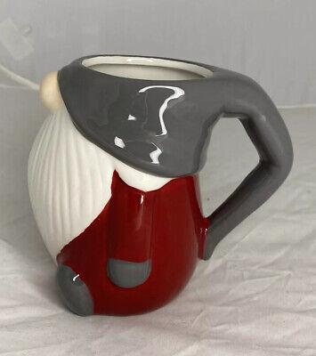 Nwt Pottery Barn Gnome Mug Christmas Holiday Table Decor