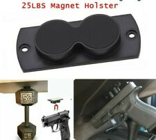 Gun Magnet Mount 25 # Pistol Rifle Magnetic Holder Car,  Home, Under Desk LC-A25
