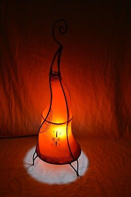 Painted Moroccan Henna FloorTable Lamp