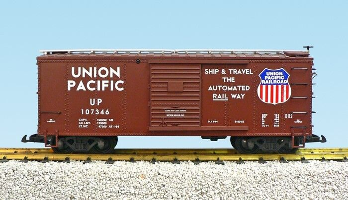 USA Trains 19105b STEEL BOX CAR