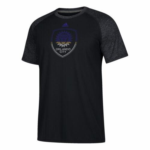 ORLANDO CITY SC reindirizzamento Logo T-Manica corta Camicia Top T-shirt uomo nero