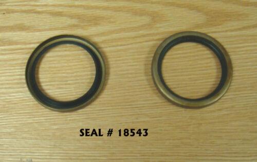 1961 1962 1963 1964-1968 CHEVY FRONT WHEEL BEARING GREASE SEALS Pair # 18543