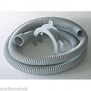 ZANUSSI AEG Compatible 2.5m Washing Machine OUTLET DRAIN HOSE | eBay
