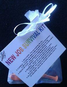New Career New Job Survival Kit Gift For New Job Promotion Leaving Present