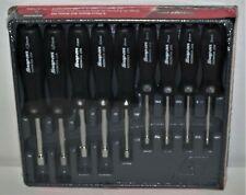 New Snap On Nut Driver Set Metric 9 Pcs Nddm900a Black Hard Handles 5 13mm