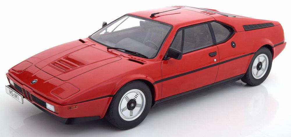 Kk Scale 1978 BMW M1 E26 Coloree rosso Le de 600 1 12 Escala Nueva Versión  en