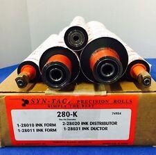 CM 280-K RYOBI 2800,960 5PCS.INK ROLL KIT SOFT RUBBER