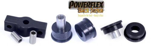 Powerflex PU Schaltgestängenlager Set Lancia Delta Integrale 3 teilig Black Seri