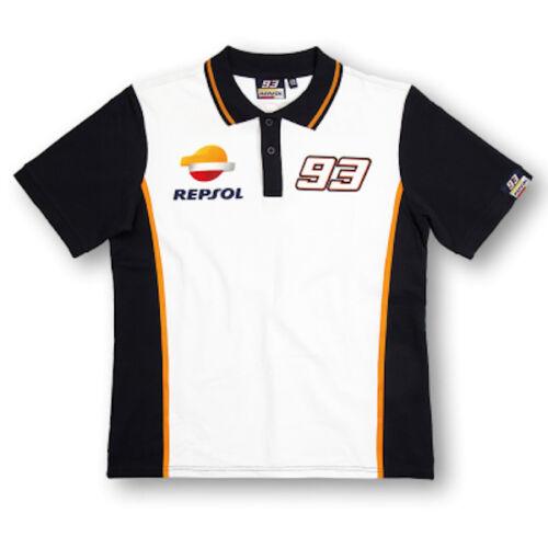 New Official Marc Marquez 93 Repsol Honda Polo Shirt REMPO 148403 or 16 18501