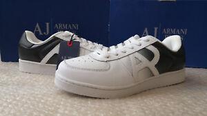 Hommes 45eu Noir Armani 11uk Baskets Taille Jeans TqYwEYR