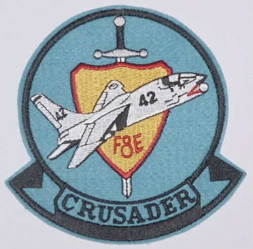 Aufnäher Patch Abzeichen French Navy Crusader F8E .........A4704