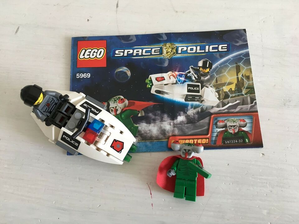 Lego Space Police, 5969, 5972