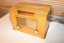Learadio Radio - Maple Veneer