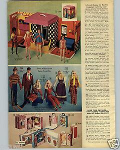 1971-PAPER-AD-3-PG-Barbie-Doll-Talking-Ken-Chrisie-PJ-Bendable-Ski-Set-Hair-Fair