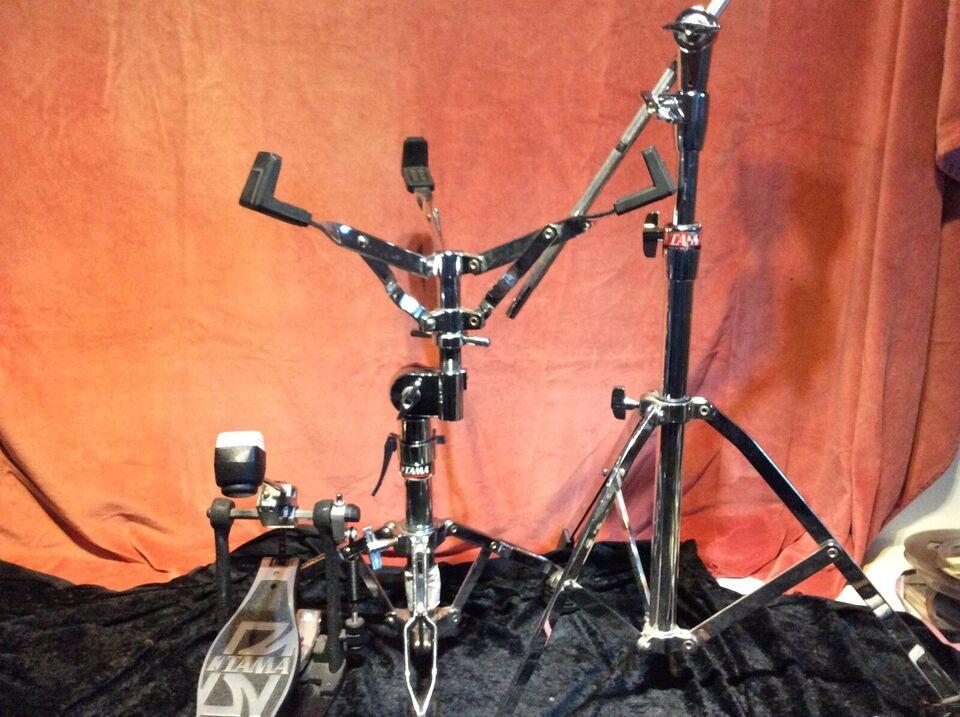 Bækken, Tama Boom stativ, st.pedal