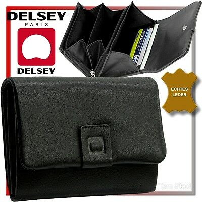 DELSEY(feminine)DAMEN-GELDBÖRSE(purse)GELDBEUTEL(mønt pung,tegnebog,pengesæk)NEU
