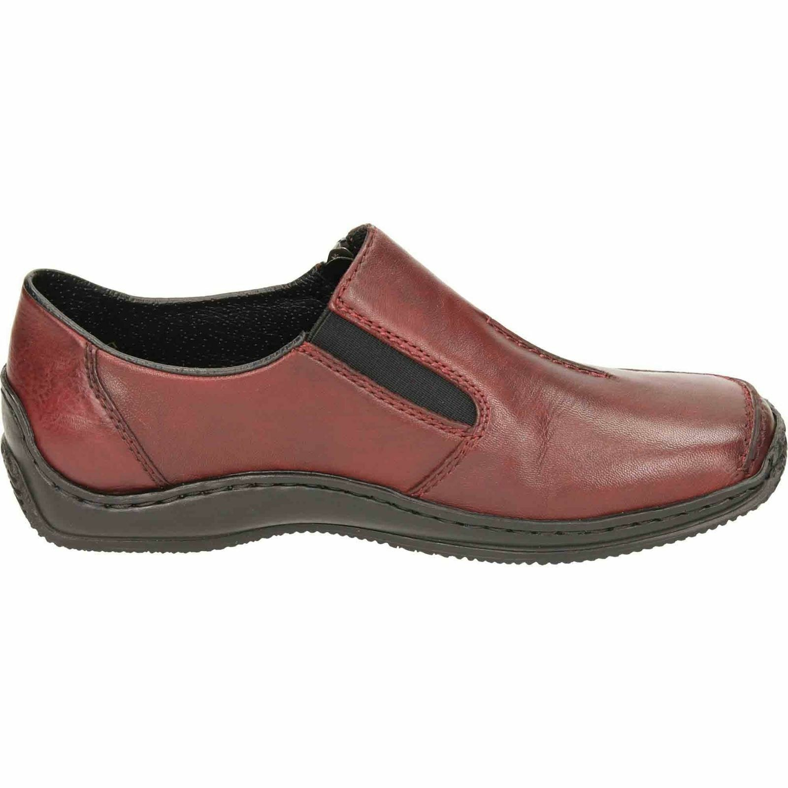 LADIES RIEKER L1780-35 ROT CLOSED CLOSED CLOSED IN Schuhe bfdf67
