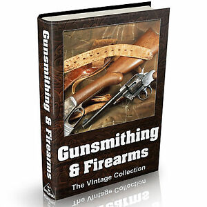 Details about Gunsmithing Firearms & Guns - MASSIVE 125 Vintage Books on  DVD Pistols & Rifles
