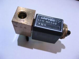UNIVER-Solenoid-Valve-Brass-Body-3-Terminal-USED