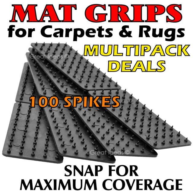 MAT Grips x 12 -  Non Slip Slide Anti Skid Carpet RUG Hallway Runner Gripper