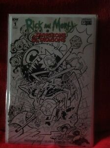RICK-amp-MORTY-DUNGEONS-amp-DRAGONS-1-NYCC-RETAILER-VARIANT-DARK-HORSE-COMICS