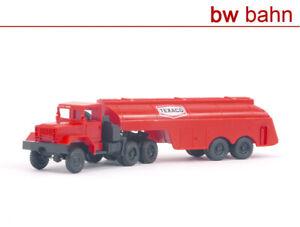 Roco-H0-1400-Flugfeldtankwagen-Texaco-Tankwagen-Flugfeld-Flughafen-Neu