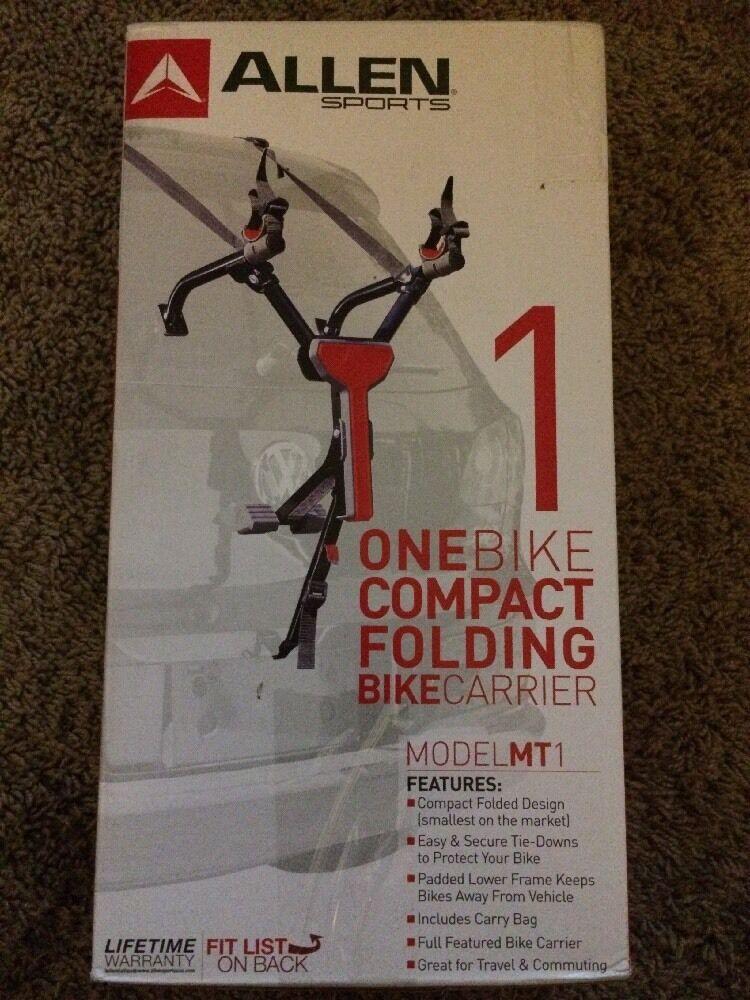 Allen Sports One Bike Compact Folding Bike Carrier