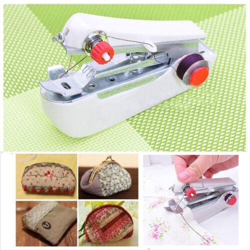 Mini Multifunction Home /& Travel Portable Cordless Hand-held Sewing Machine @T