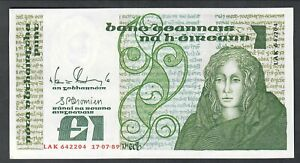 Intelligente Irlanda Ireland 1 Pound 1989 Q.fds Lotto 2029