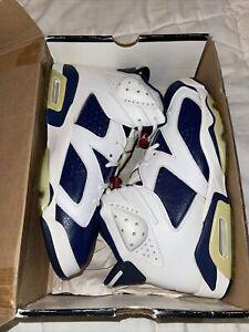Size 12- Jordan 6 Retro+ Olympic 2000