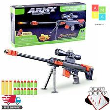 Barrett Strike Dart Blaster Elite Toy Pneumatic Gun Vulcan Recon Fire For Nerf