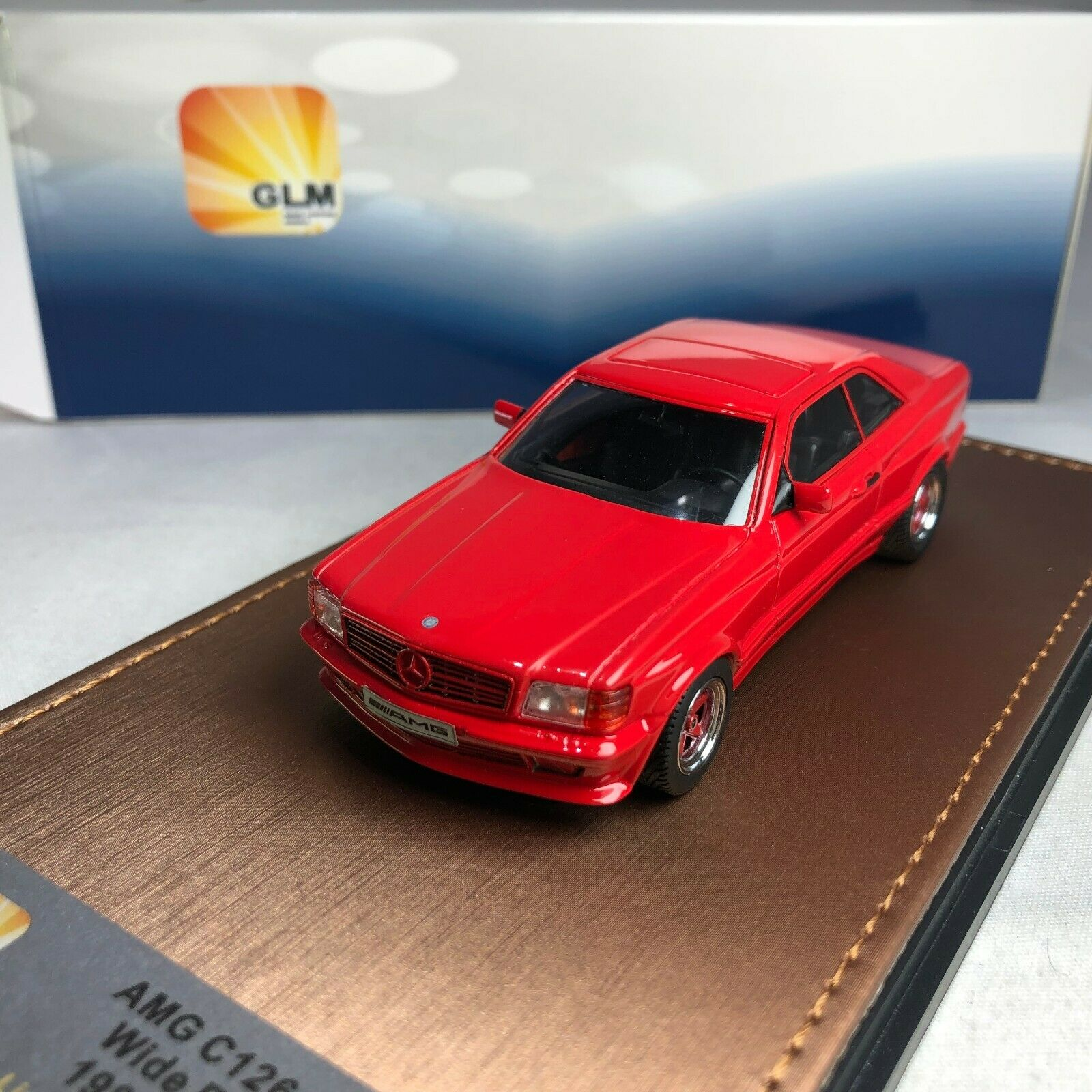1/43 GLM Mercedes-Benz AMG C126 6.0 1984, Red GLM206601