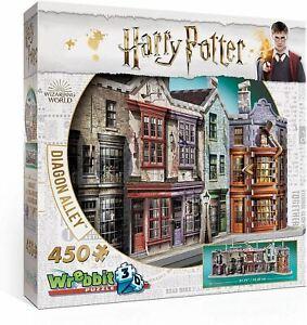Wrebbit-3D-Puzzle-Harry-Potter-Diagon-Alley-Ninos-Juguete