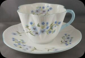 Dainty-Shelley-Blue-Rock-Floral-Cup-amp-Saucer