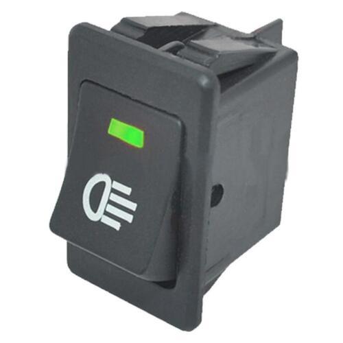 4 X 12V 35A Car Auto Fog Light Rocker Toggle Switch Blue LED Dashboard Sales