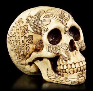 Skull-With-Altagyptischen-Decorations-Fantasy-Skull-Egypt-Decor