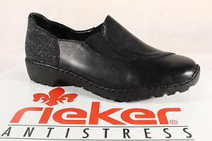 Rieker Damen Halbschuhe & Ballerinas mit Schnürsenkeln | eBay