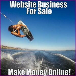 Fully-Stocked-WAKEBOARDING-Website-Business-FREE-Domain-FREE-Hosting-Traffic