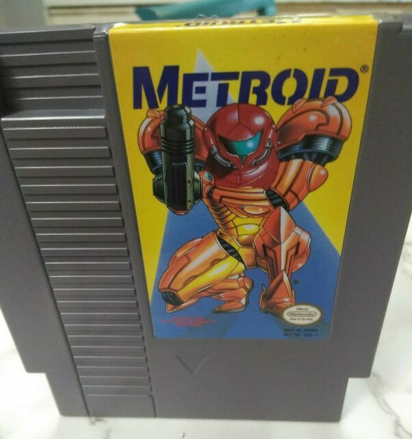 🤖💥METROID NES 1987 TESTED🎮 EXCELLENT CONDITION🌟COULD BE GRADED QUALITY HERE!