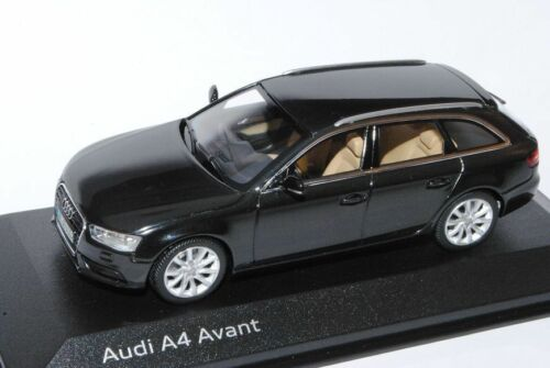 AUDI a4 b8 Facelift dal 2011 Avant STATION WAGON PHANTOM nero a partire dal 2007 1//43 MINI Chamberlin...